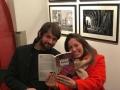 Caterina e Lorenzo, alla presentazione di Pistoia, 16 Febbraio 2019
