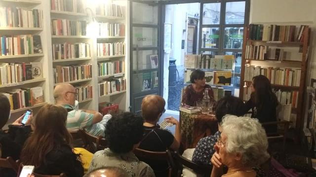 Libreria Griot, Roma, 21 settembre 2018