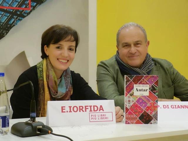 Con Paolo di Giannantonio a  Più Libri Più Liberi, Roma, 6 dicembre 2018
