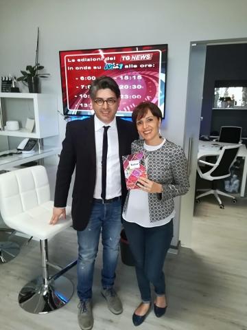 """Su TeleMia, ospite di """"Gente di Calabria"""" (Roccella Jonica, 6 aprile 2019)"""