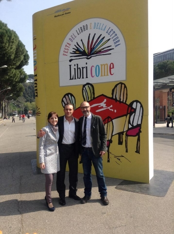 Auditorium Parco della Musica - in compagnia di Marco Marrocco e Salvatore Luca D'Ascia, Roma (15 marzo 2014)