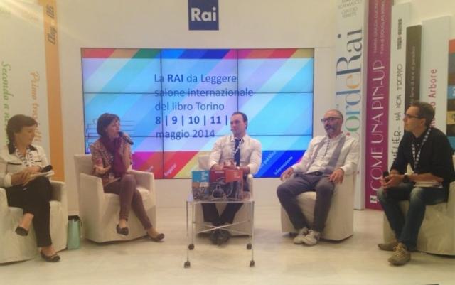 """Salone Internazionale del Libro - Filippo Solibello intervista i tre vincitori del Premio """"La Giara"""", Torino (10 maggio 2014)"""