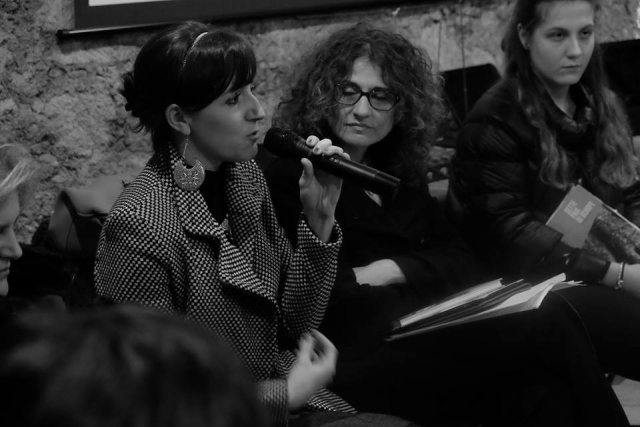 Museo Dinamico della Seta - con Antonietta Cozza, Mendicino (8 marzo 2016)
