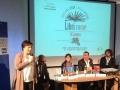 """Auditorium Parco della Musica - Paola Gaglianone e Alessandro Salas presentano i tre vincitori del Premio """"La Giara"""", Roma (15 marzo 2014)"""