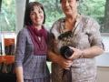 """Limonaia di Villa Strozzi - con Graziella Bindocci, autrice della mostra fotografica """"I Volti della Siria"""", Firenze (18 maggio 2014)"""