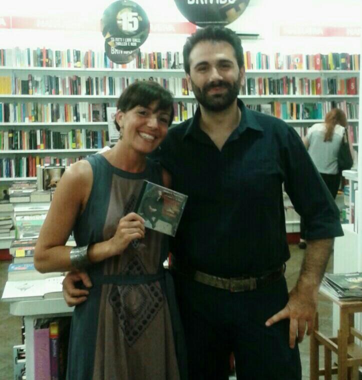 """Con Gaspare Tancredi, Libreria """"Incontro"""" di Soverato (19 giugno 2015)"""